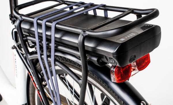 Detajli električnega kolesa Norma-B